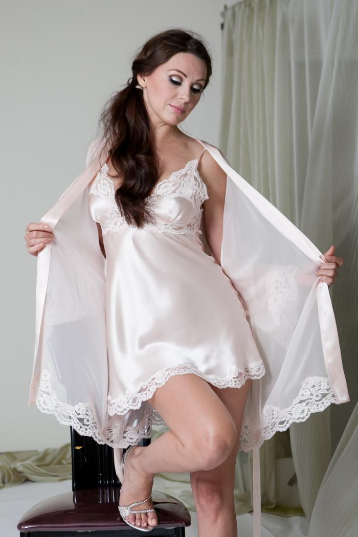 Pink Satin Slip 7064 Designed By Jane Woolrich